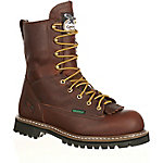 Georgia Boot Men's 8 in. Chocolate Loggers Steel Waterproof Logger