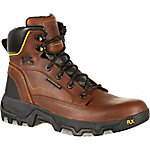 Georgia Boot Men's 6 in. Brown FLX Point Composite Waterproof Hiker