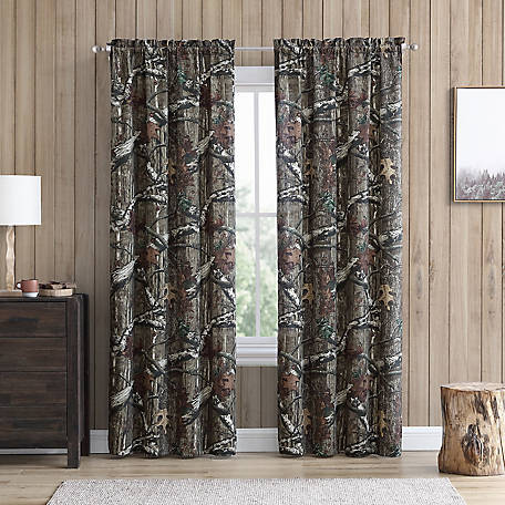 Mossy Oak Panel Pair, Green, 40 in. x 84 in.