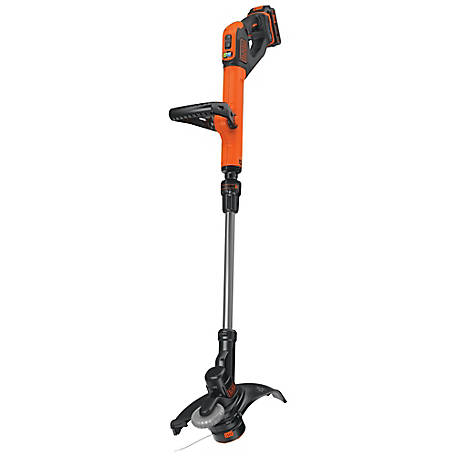 Black & Decker 20V MAX* Lithium 12 in. 2-Speed String Trimmer/Edger