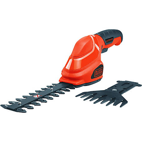 Black & Decker Lithium 2-in-1 Garden Shear/Shrubber Combo, GSL35