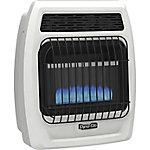 Dyna-Glo BFSS10LPT-2P 10,000 BTU Liquid Propane Blue Flame Vent-Free Thermostatic Wall Heater