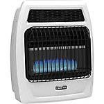 Dyna-Glo BFSS20LPT-2P 20,000 BTU Liquid Propane Blue Flame Vent-Free Thermostatic Wall Heater