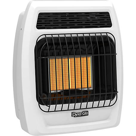 Dyna-Glo IRSS12LPT-2P 12,000 BTU Liquid Propane Infrared Vent-Free Thermostatic Wall Heater