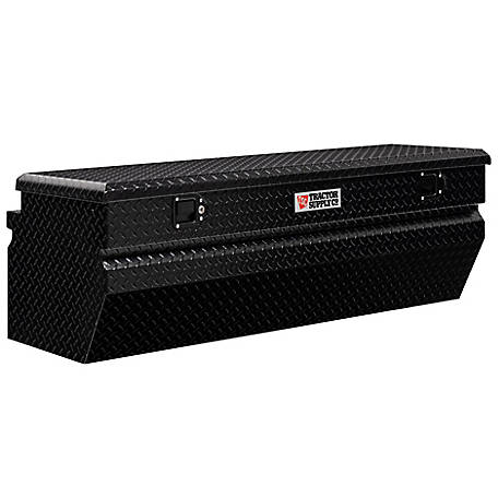 Tractor Supply 56 in. Chest Box, Matte Black