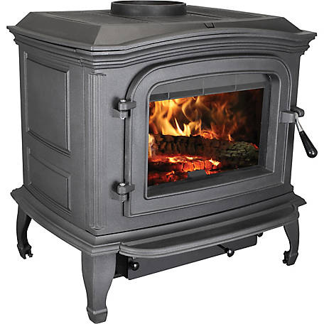 Ashley Wood Stove 1,200 sq. ft. Cast Iron Wood Stove, AC1100