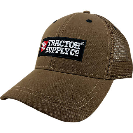 Tractor Supply Washed Canvas Cap