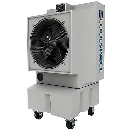 COOL-SPACE Glacier 18 in. Portable Evaporative Cooler, CS5-18-VD