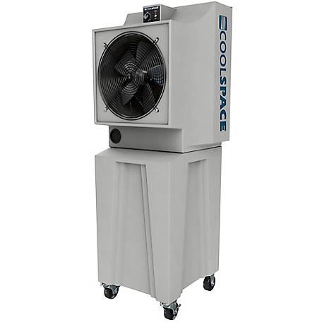COOL-SPACE Glacier 18 in. Tall Base Portable Evaporative Cooler, CS5-18-VD-TB2