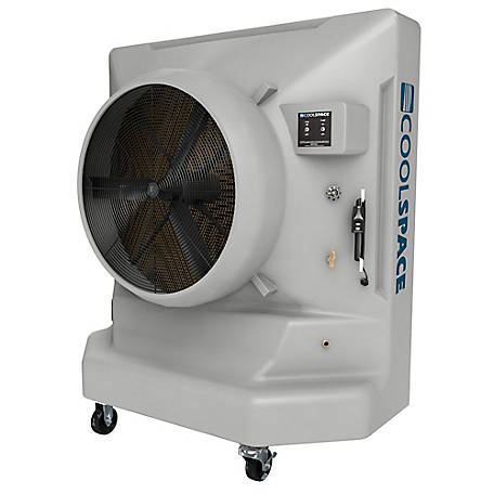 COOL-SPACE Avalanche 36 in. 1-Speed Portable Evaporative Cooler, CS6-36-1D