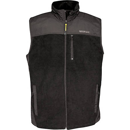 Caterpillar Men's Momentum Fleece Vest
