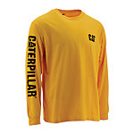 Caterpillar Men's Trademark Banner Long Sleeve T-Shirt