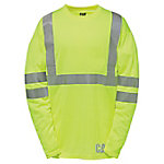Caterpillar Men's Hi-Vis Long Sleeve T-Shirt