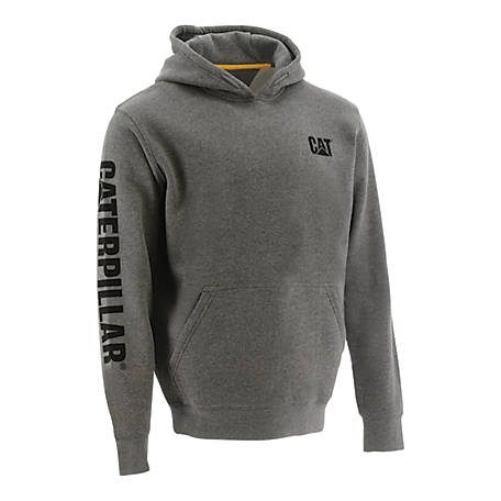 Caterpillar Men's Trademark Banner Hooded Sweatshirt