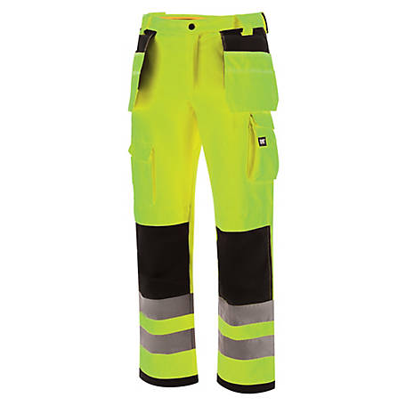 Caterpillar Men's Hivis Trademark Work Pant