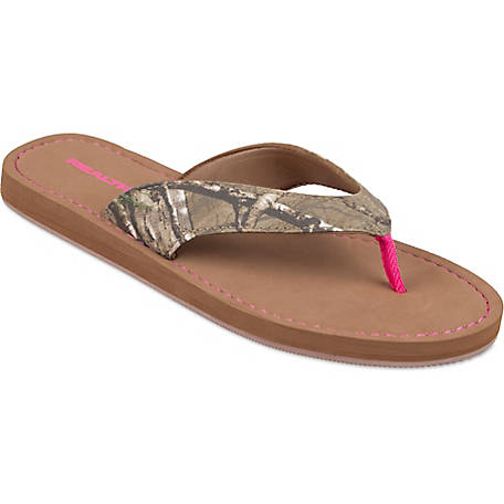 6bd9fc2d682e Realtree Women s Realtree AP Camo Flip Flop at Tractor Supply Co.