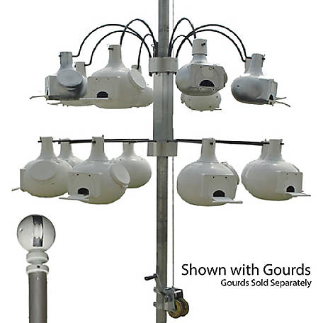 S&K Combo EasyLift Pole system and Fountain Rack 8 with AAO Arms