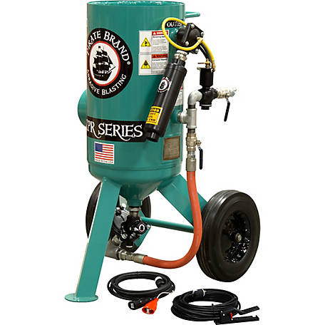 Pirate Brand CPR 3.0 cu. ft. SandBlaster AMVII Basic Package with Electric Controls