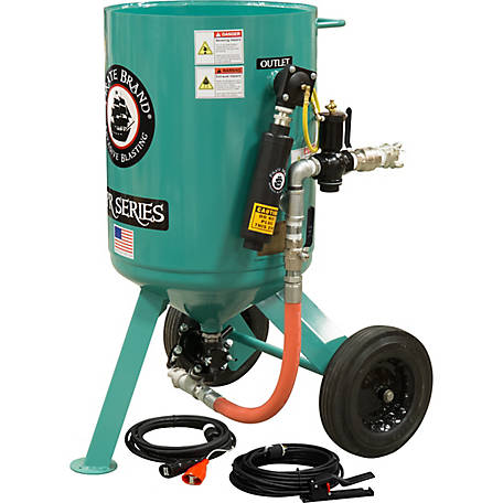 Pirate Brand CPR 6.0 cu. ft. SandBlaster AMVII Basic Package with Electric Controls