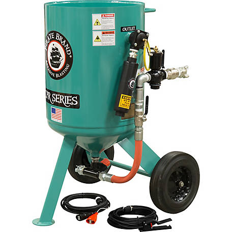Pirate Brand CPR 6.0 cu. ft. SandBlaster MPV Basic Package with Electric Controls