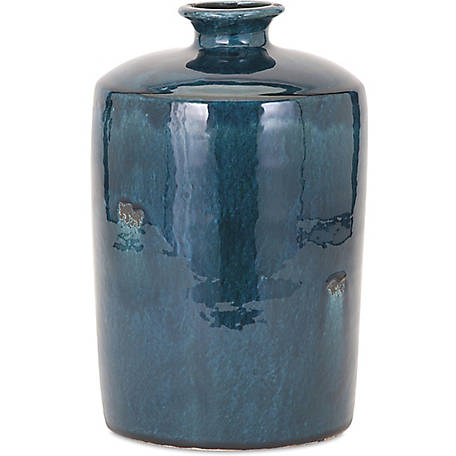Arlo Medium Blue Vase