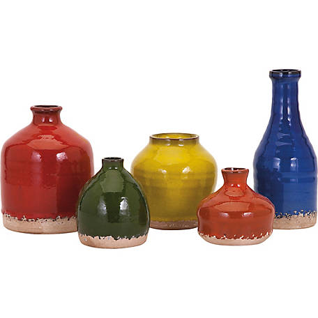 Cameron Mini Vase, Set of 5