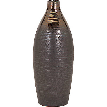 Calin Medium Bronze Top Vase