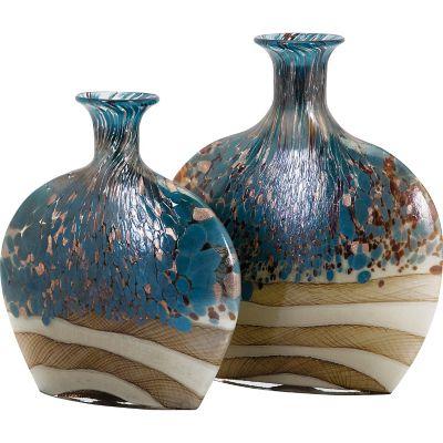 Nordiak Glass Vases; Set of 2