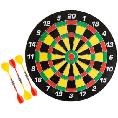 Hey! Play! 16 in. Magnetic Dartboard Set