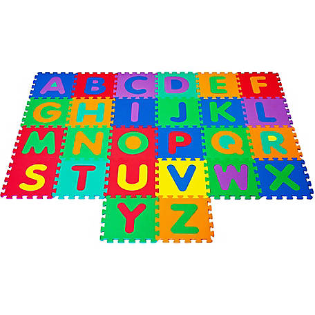 Hey! Play! Foam Floor Alphabet Puzzles Mat For Kids