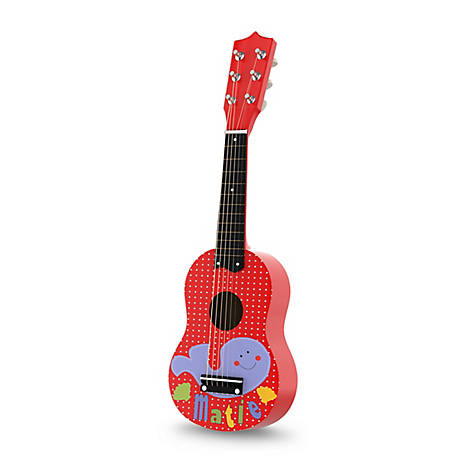 Hey! Play! Toy Acoustic Guitar with 6 Tunable Strings and Real Musical Sounds
