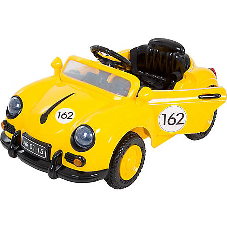 Lil' Rider 58 Speedy Sportster Classic Car with Remote, Yellow