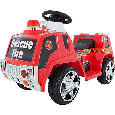 Battery Operated Ride On Toys >> Lil Rider Fire Truck For Kids Battery Powered Ride On Toy At Tractor Supply Co