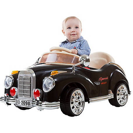 Lil' Rider Kids Ride-on Battery Operated Classic Car 6V with Remote, Lights and Sounds by Lil' Rider
