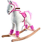 Happy Trails Plush Rocking Patricia Pony