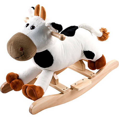 Happy Trails Plush Rocking Connie Cow
