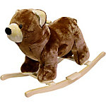 Happy Trails Bear Plush Rocking Animal
