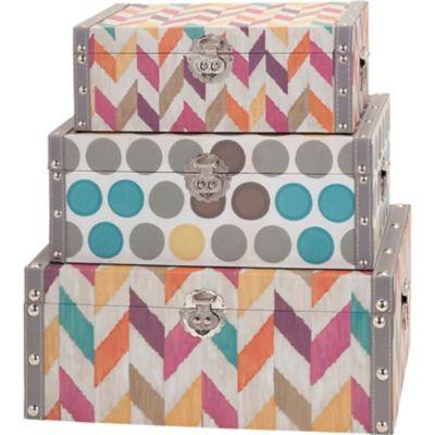 Confetti Boxes; Set of 3