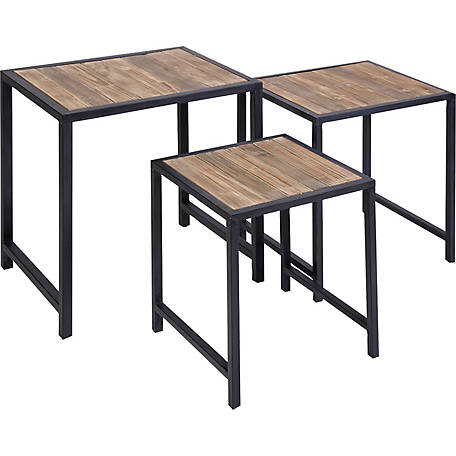 IK Groveport Nesting Tables, Set of 3