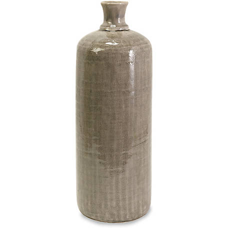 Kempton Large Gray Jar