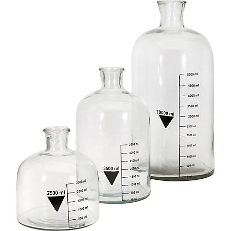 Chemistry Bottles, Set of 3