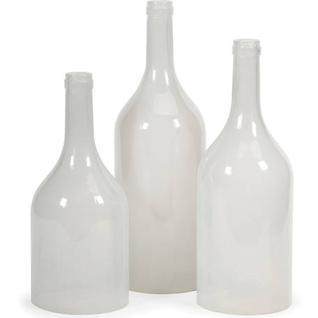 Monteith Cloche Bottles, Set of 3
