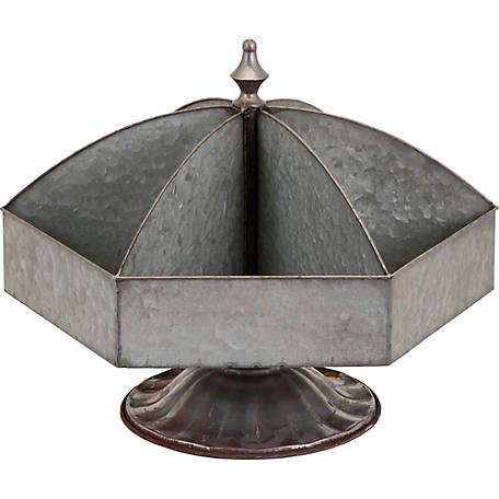 Galvanized Spinning Caddy