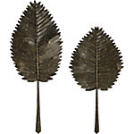 Cleopatra Leaves, Set of 2
