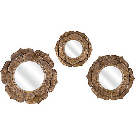 Wanderings Wall Mirrors, Set of 3