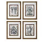Cordele Mirror Wall Decor, Pack of 4
