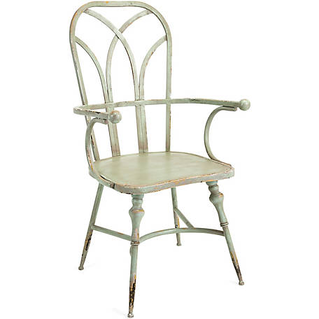 Georgette Metal Arm Chair