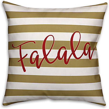 Designs Direct Falala 18 in. x 18 in. Spun Poly Pillow