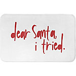 Designs Direct Santa I Tried 34 in. x 21 in. Bath Mat