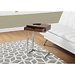 Monarch Specialties Metal Accent Table with Drawer